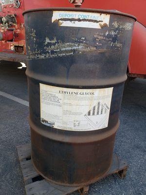 Bulk Ethylene glycol 55 gal drum antifreeze for Sale in Los Alamitos, CA