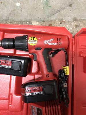 Milwaukee hammer drill for Sale in Los Angeles, CA