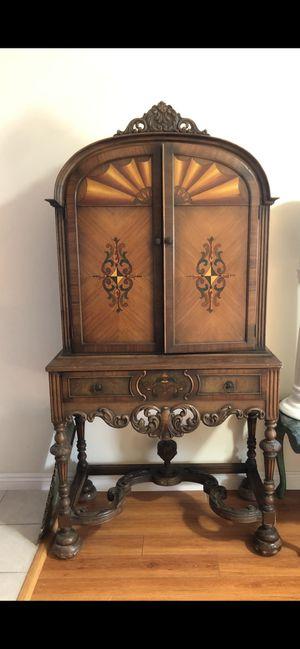 Antique European Hutch Cabinet Rare for Sale in Glendale, CA