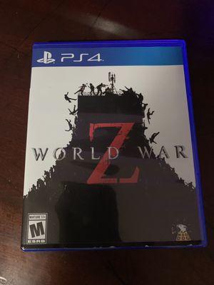 World war z for Sale in Long Beach, CA