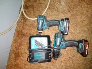Makita 18v cordless drill and impact for Sale in Destin, FL