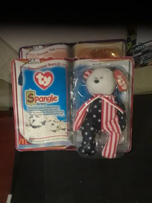 TY SPANGLE AND STEG BEANIE BABIES $20 EACH for Sale in Norwalk, CA