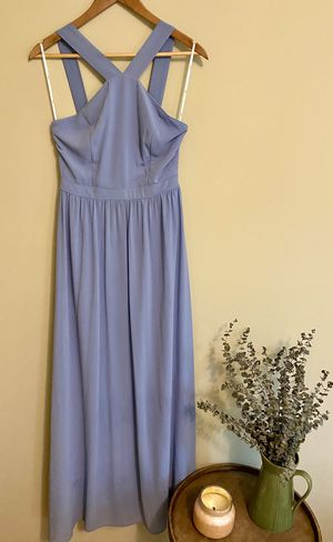 Lulu's Air of Romance Light Blue Maxi Dress - Only worn once! for Sale in Tampa, FL