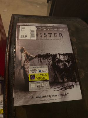 Sinister DVD, new for Sale in Plainfield, IL