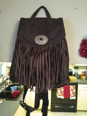 Genuine Leather Backpack Purse for Sale in Port Richey, FL