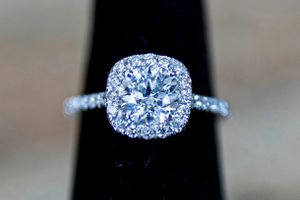 Beautiful 1.78 CT Diamond Engagement Ring with Accents - 14K White Gold for Sale in Anaheim, CA