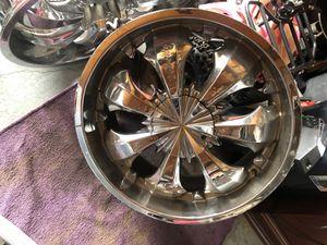 22 inch rims for Sale in Riverside, CA