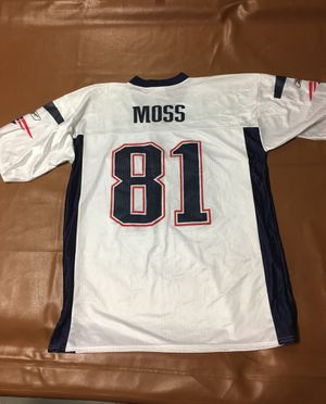 PATRIOTS RANDY MOSS FOOTBALL JERSEY!!!! for Sale in Temecula, CA