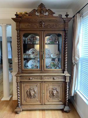 Antique China cabinet 19th century for Sale in Fairfax, VA