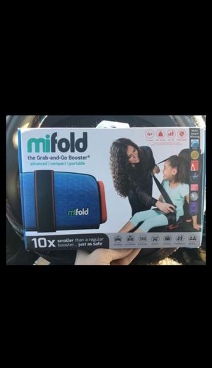 Mifold compact booster seat for kids! BRAND-NEW IN BOX. for Sale in Las Vegas, NV