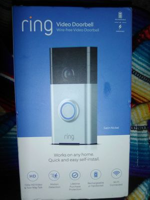 Ring Video Doorbell for Sale in Dallas, TX