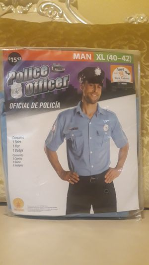 Police Officer Costume for Sale in San Jacinto, CA