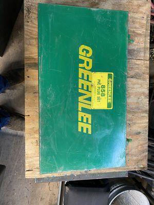 Greenlee 858 PVC Plug Set for Sale in Midland, TX