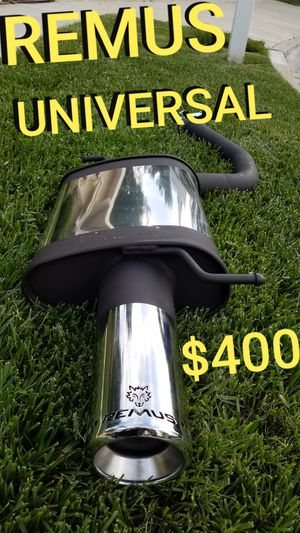 Remus universal exhaust - - BRAND NEW for Sale in Los Angeles, CA