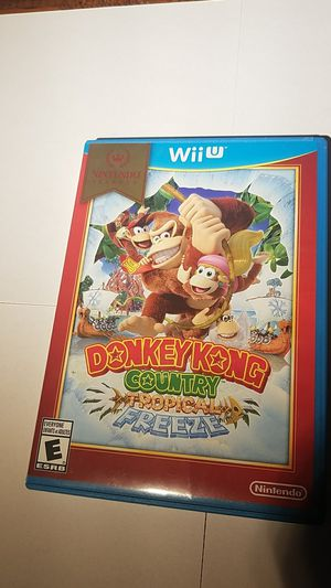 Donkey Kong Contry Tropical Frreze Wii u for Sale in Dumfries, VA