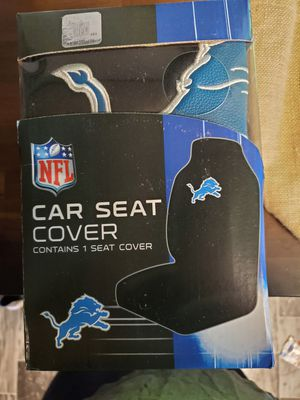 New Lions and tigers seat covers for Sale in Hoxeyville, MI