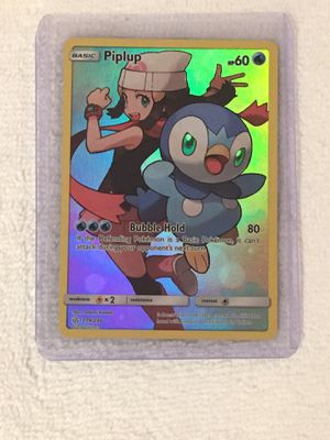 Piplup Secret Rare Pokemon Card 239/236 for Sale in Houston, TX
