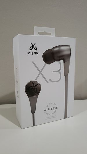 Jaybird X3 bluetooth headphones for Sale in Sun City, AZ