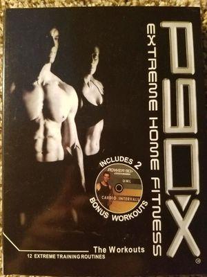 P90-X Extreme Home Fitness Set Tony Horton Workout for Sale in Atlanta, GA