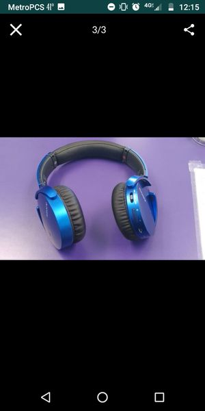 Sony wireless headphones for Sale in Smithfield, RI