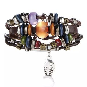 Unisex - Gorgeous Five Layer Bracelet/Fish/Colorful for Sale in Houston, TX
