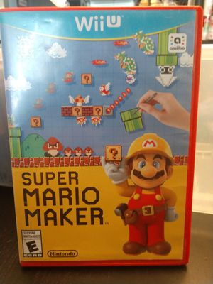 Nintendo Wii U Game Super Mario Maker for Sale in Vancouver, WA