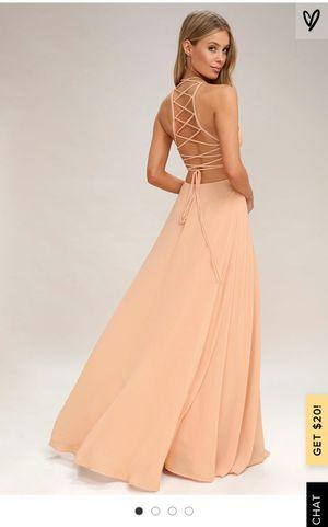 Lulus Blush Dress for Sale in Austin, TX