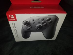 Nintendo Switch Pro Controller Brand New Factory Sealed Authentic Original for Sale in South Gate, CA