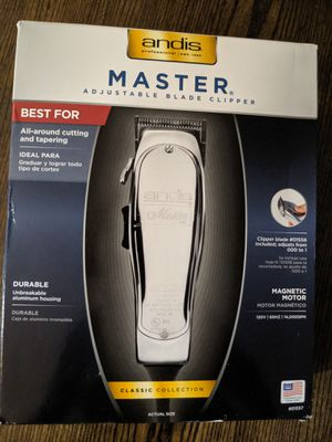 Andis master adjustable blade clipper for Sale in Romeoville, IL
