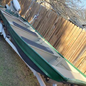 16 Ft Monarch Aluminum Jon Boat for Sale in Pflugerville, TX