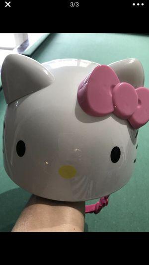 Hello kitty Helmet ⛑ for children casco para Niña for Sale in Miami, FL