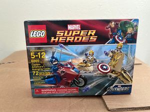 Lego Marvel 6865 Captain America's Avenging Cycle for Sale in Phoenix, AZ