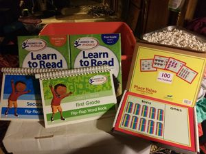 Hooked on Phonics,First Grade Level1&2 for Sale in Graham, WA