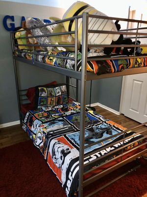 IKEA Bunk Bed with Trundle for Sale in Chula Vista, CA