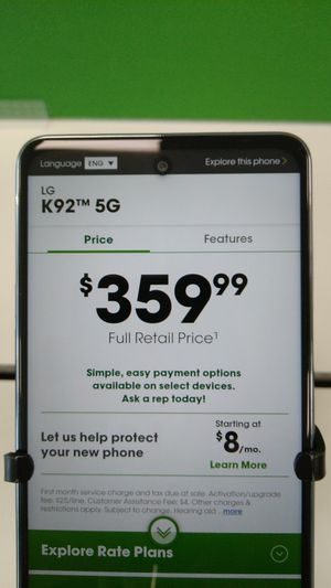 LG K92 5G for Sale in San Angelo, TX