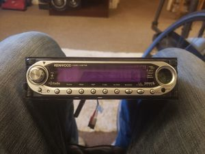 Kenwood missing button but fully functional comes with remote for Sale in Kent, WA
