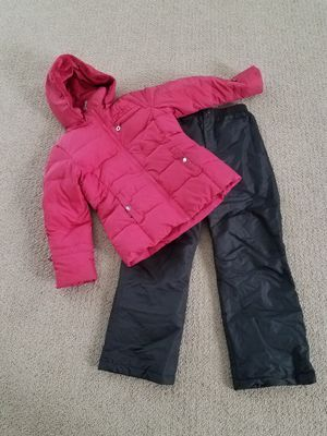 Snow clothes size 10 - 12 girls kids snow pants winter snow coat jacket for Sale in Gilbert, AZ