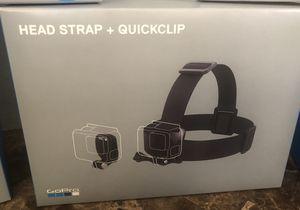 GoPro - Head Strap and QuickClip - Black for Sale in Avondale, AZ