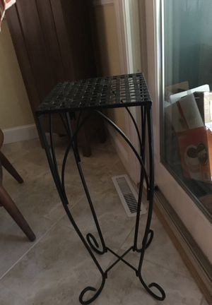 Wrought iron plant stand for Sale in Hudson, MA