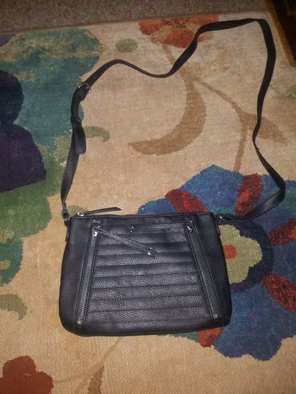 New leather shoulder purse