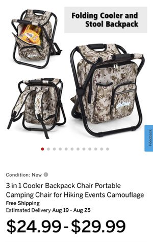 3 In 1 Cooler Backpack for Sale in Rancho Cucamonga, CA
