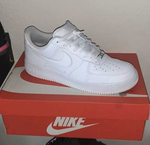 Nike shoes| Air Force 1 white for Sale in Philadelphia, PA