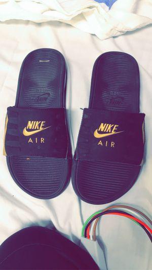 Nike slides for Sale in Wichita, KS