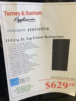 Black Freezer On Top for Sale in Maple Heights,  OH