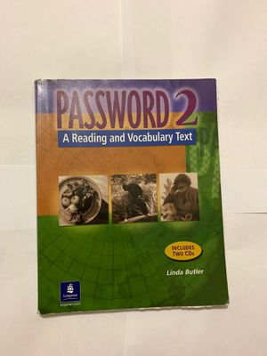 Password 2 a Reading and Vocabulary text with cds for Sale in Miramar, FL