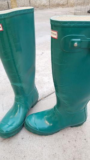 Hunter Rain Boots. $3 for Sale in Stanton, CA