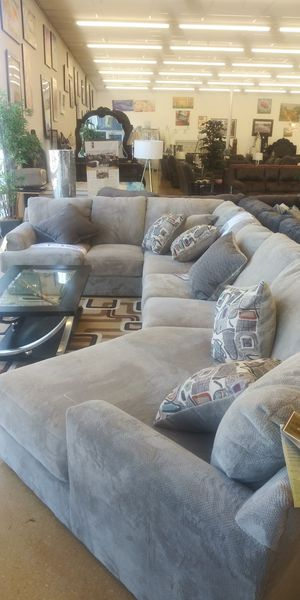 Sectional couch for sale and bike for two people to ride for Sale in Columbus, OH