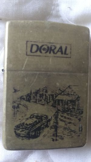 Vintage collectible Doral Zippo lighter for Sale in Louisville, KY