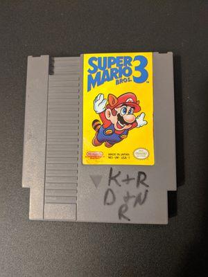 Super Mario Bros 3 NES for Sale in Peoria, AZ