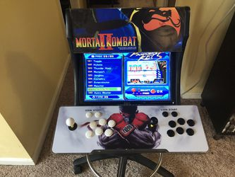 250 Firm Bartop arcade Pandora box with mortal kombat theme for Sale in Fort Washington,  MD